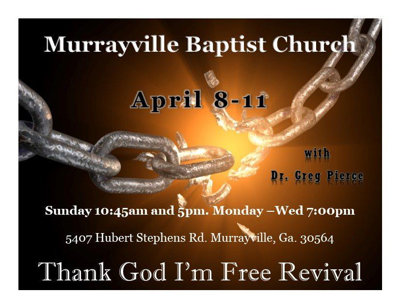 thank god i'm free revival